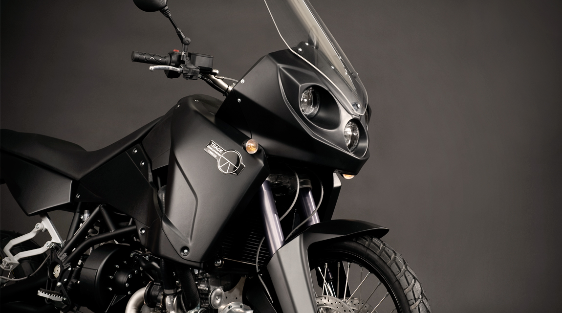Diesel motorcycle design fairing parts by Schurgers Design