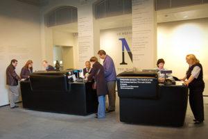 infodesk polyester rijksmuseum Schurgers Design