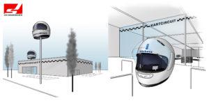 Polyester Giant Helmet Schurgers Design